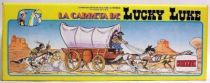 Lucky Luke - Comansi - Mint in box Covered wagon