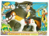 Lucky Luke - Feber\'s Mechanical 1974 - Jouet mécanique Lucky Luke et Jolly Jumper