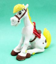 Lucky Luke - Figurine PVC M+B Maia Borges - Jolly Jumper assis