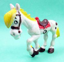 Lucky Luke - Figurine PVC M+B Maia Borges - Jolly Jumper