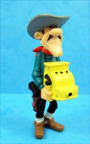 Lucky Luke - Figurine PVC Plastoy - Jack Dalton avec caisse