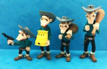 Lucky Luke - Figurine PVC Plastoy - Les Dalton (Joe, Jack, William & Averell)