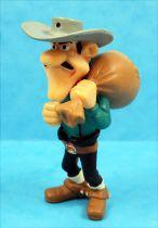 Lucky Luke - Figurine PVC Plastoy - William Dalton avec sac d\'argent