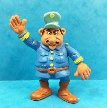 Lucky Luke - Figurine PVC Schleich - Capitaine Gonzales, le conducteur du train