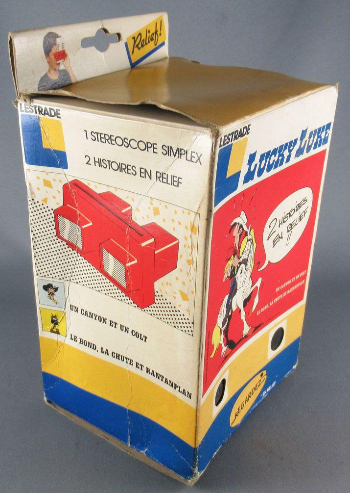 Lucky Luke - Lestrade Kit Relief (3D Vision) - 1 Stéréoscope + 2 Stéréocartes En Boite