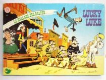 Lucky Luke - Multiprint 1983 Stamps - The Ballad of the Daltons