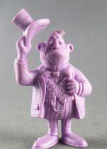 Lucky Luke - Omo Bonux 1973 - Figurine Monochrome - Banquier (Mauve)