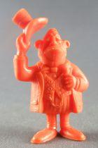 Lucky Luke - Omo Bonux 1973 - Figurine Monochrome - Banquier (Orange)