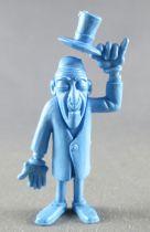 Lucky Luke - Omo Bonux 1973 - Figurine Monochrome - Croque-Mort (Bleu)