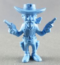 Lucky Luke - Omo Bonux 1973 - Figurine Monochrome - Jack Dalton (Bleu)