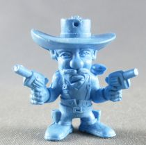 Lucky Luke - Omo Bonux 1973 - Figurine Monochrome - Joe Dalton (Bleu)