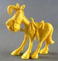 Lucky Luke - Omo Bonux 1973 - Figurine Monochrome - Jolly Jumper (Jaune)