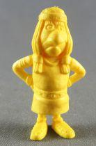 Lucky Luke - Omo Bonux 1973 - Figurine Monochrome - Petit Indien (Jaune)