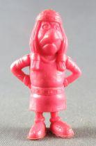 Lucky Luke - Omo Bonux 1973 - Figurine Monochrome - Petit Indien (Rouge Brique)