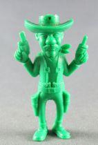 Lucky Luke - Omo Bonux 1973 - Monochromic Figure - Averell Dalton (Green)