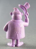 Lucky Luke - Omo Bonux 1973 - Monochromic Figure - Banker (Purple)