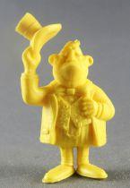 Lucky Luke - Omo Bonux 1973 - Monochromic Figure - Banker (Yellow)