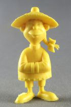 Lucky Luke - Omo Bonux 1973 - Monochromic Figure - Chinese Man (Yellow)