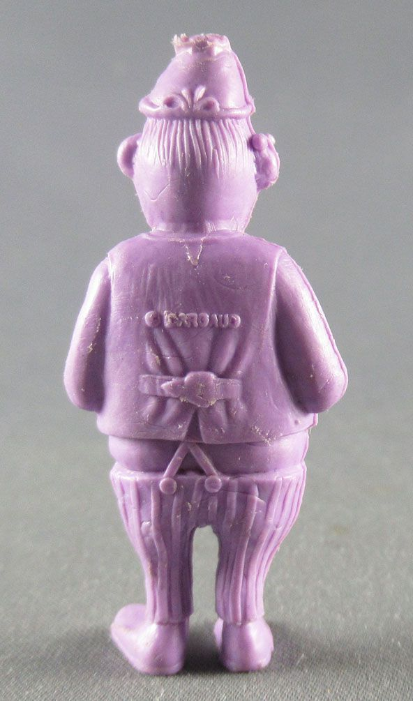 Lucky Luke - Omo Bonux 1973 - Monochromic Figure - Employee of the Telegraph (Purple)
