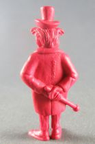 Lucky Luke - Omo Bonux 1973 - Monochromic Figure - Mr Mayor (Brick Red