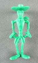 Lucky Luke - Omo Bonux 1973 - Monochromic Figure - Phil Defer (Green)