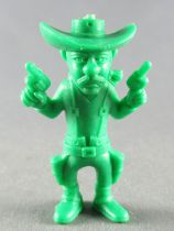 Lucky Luke - Omo Bonux 1973 - Monochromic Figure - William Dalton (Green)