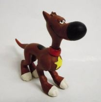 Lucky Luke - Plastoy - figurine Flexible Rantanplan