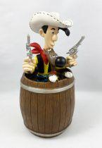 Lucky Luke - Plastoy - Tirelire Lucky Luke & Rantanplan