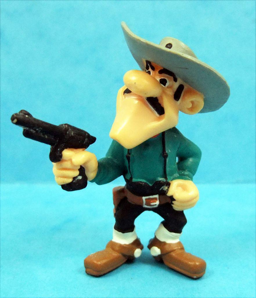 Lucky Luke - Plastoy PVC figure - Joe Dalton with revolver colt