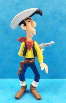 Lucky Luke - Plastoy PVC figure - Lucky Luke shooting in his back
