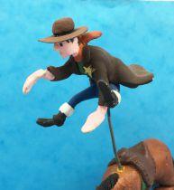 Lucky Luke - Prototype en Résine - Cheval éjectant le sheriff