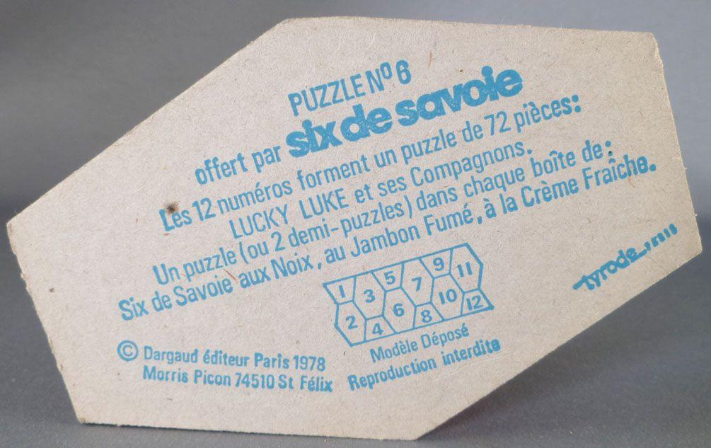 Lucky Luke - Puzzle Six de Savoie N°6