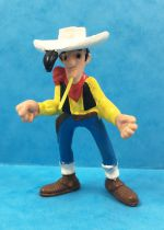 Lucky Luke - Schleich - pvc figure Lucky Luke with closed fist & skewerable straw