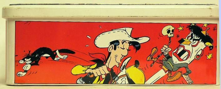 Lucky Luke - Tin  candy box