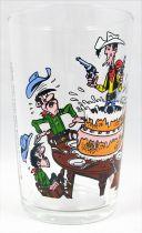 Lucky Luke - Verre à moutarde Amora - Le gateau d\'anniversaire des Dalton