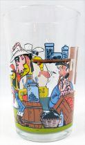 Lucky Luke - Verre à moutarde Amora - Lucky Luke et Billy The Kid