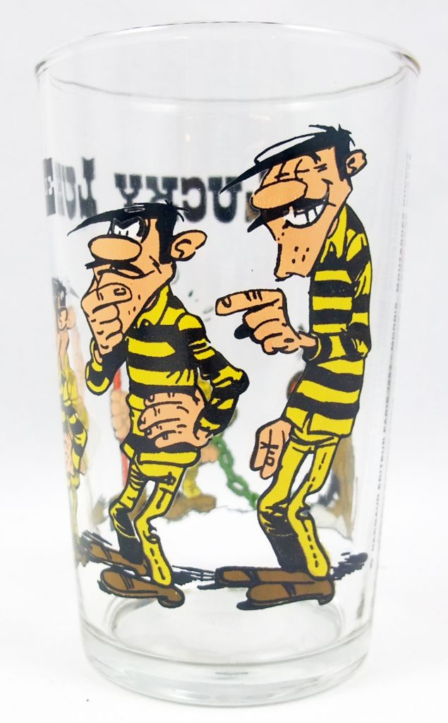 Lucky Luke - Verre à moutarde Ducros - Rantanplan aime Joe Dalton