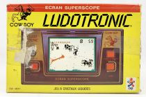 Ludotronic (Ceji) - LCD Handheld Game - Cow Boy (occasion boite)