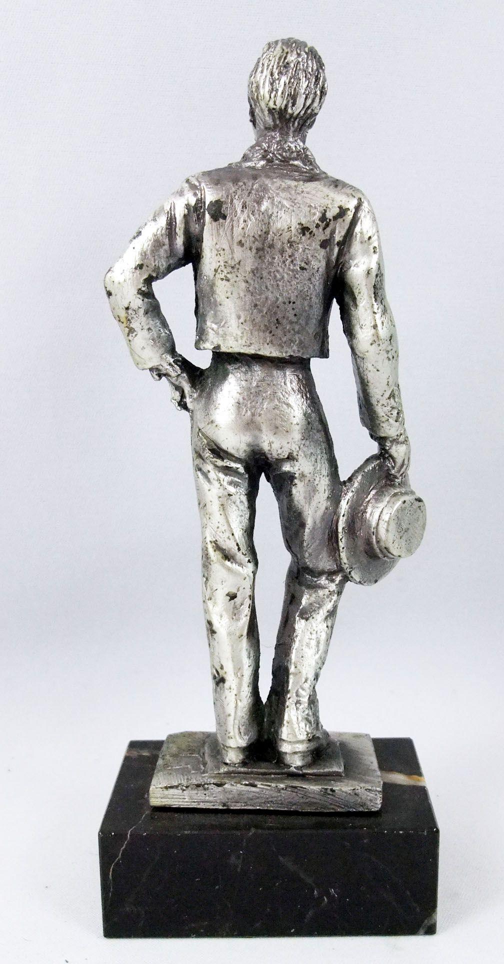 Luis Mariano - Statue en métal injecté 16cm - Daviland France 1978