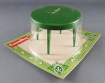 Lundby of Sweden # 1504 - Kitchen Rond Green Table Dolls House Furniture Mint on Card