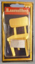Lundby of Sweden # 2520 - 1 x Wooden Kitchen Chair Dolls House Furniture Mint on Cerd