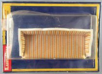 Lundby of Sweden # 4380 - Royal Fabric Sofa Dolls House Furniture Mint on Card