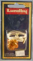 Lundby of Sweden # 6184 - Orange Wall Light Dolls House Furniture Mint on Cerd
