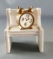 Lundby of Sweden # 6851 - Sleeping Room Alarm Clock + Night Table Dolls House Furniture