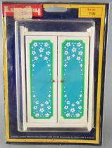 Lundby of Sweden # 7181 - Blue Heaven Sleeping Room Wardrobe Dolls House Furniture Mint on Card