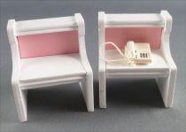 Lundby of Sweden - Chambre Pink Heaven 2 Tables de Nuit Maison de Poupée