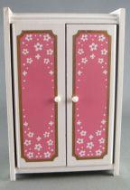 Lundby of Sweden - Chambre Pink Heaven Armoire Maison de Poupée