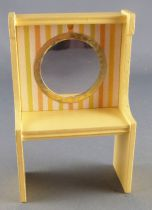 Lundby of Sweden - White & Yellow Vanity Unit with Miror Dolls House Furniture