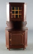 Lundby of Sweden - Wooden  Angle Cupboard Cabinet Dolls House Furniture