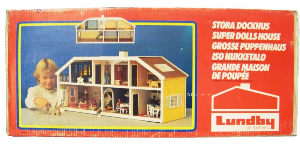Grande Maison de Poupées (90cm) Ref.6040 - LUNDBY of SWEDEN 1985 (neuve en boite) 01